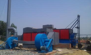 高溫鏈條爐排燃煤熱風爐